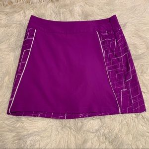 Adidas Climacool purple skort skirt tennis golf